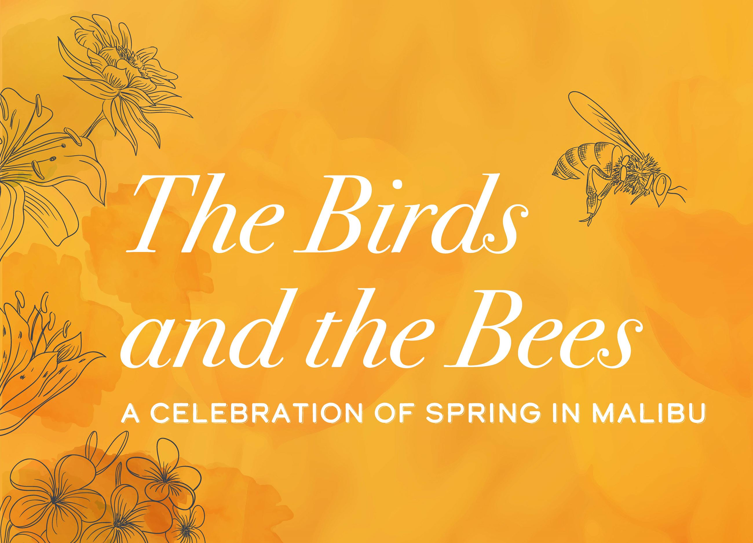 The Birds and the Bees Art Exhibition Title Image